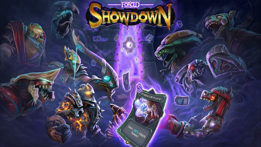Forced Showdown Promotional Art